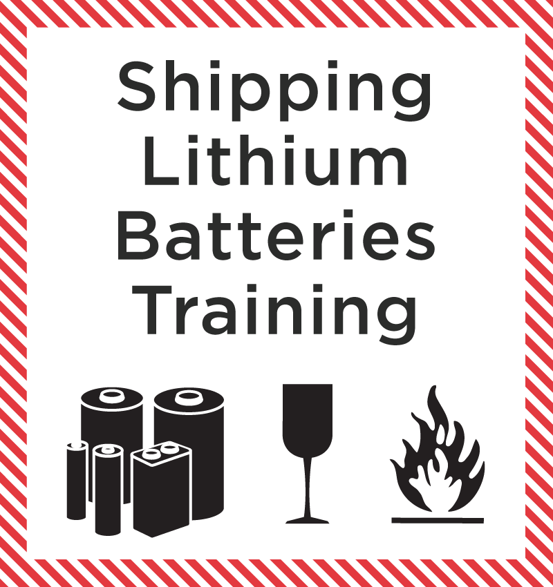 Shipping Lithium batteries Training