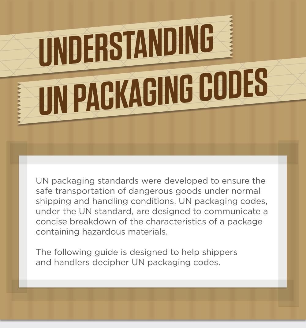 Understanding UN Packaging Codes - 1