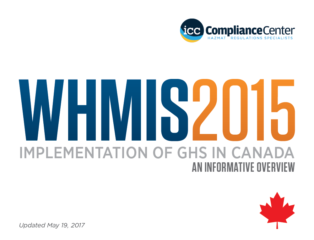 WHMIS 2015: Implementation of GHS in Canada infographic image 1 of 16