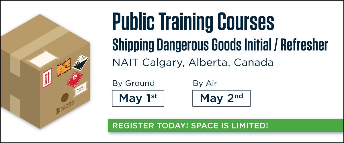 2018 TDG & IATA Training at NAIT Calgary
